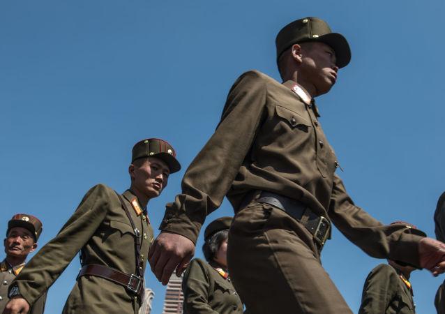 Vojáci KLDR