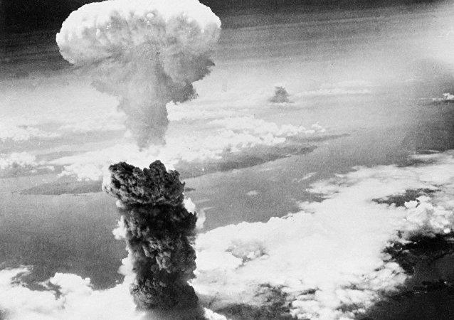 Atómový hríb nad Nagasaki