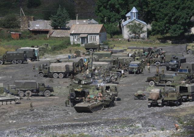 Vojenská základna v Jižní Osetii