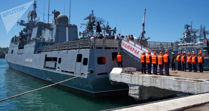 Raketová fregata Admiral Essen