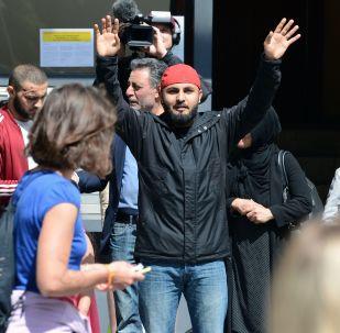Migranti v Berlíně (ilustrační foto)