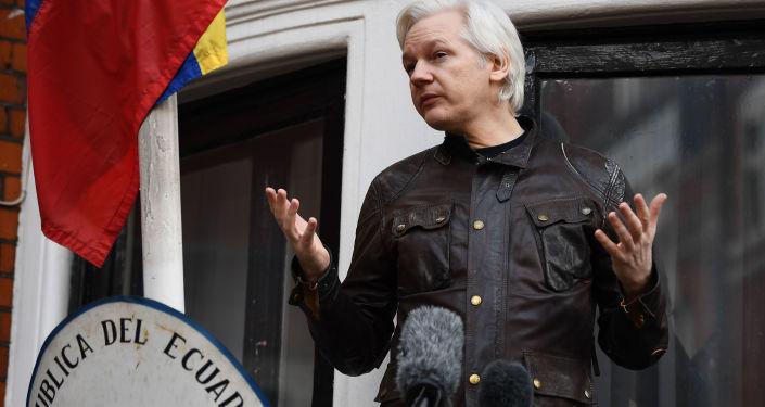 Zakladatel portálu WikiLeaks Julian Assange