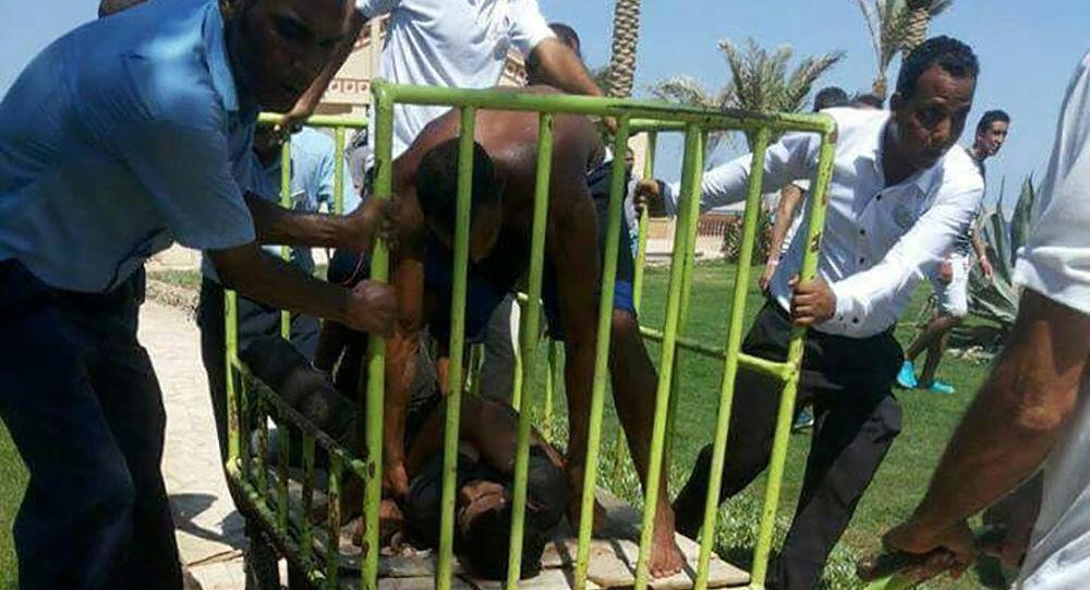 Zadržený útočník z Hurghády