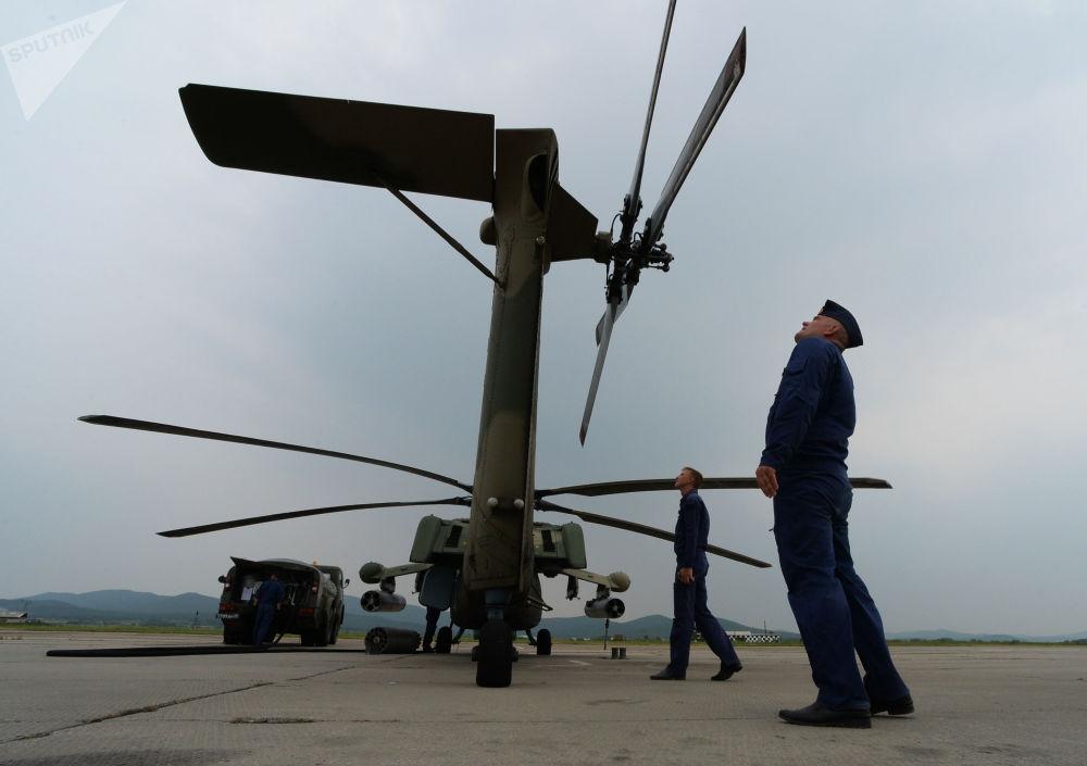 Létající tanky: cvičení vrtulníků v Přímoří