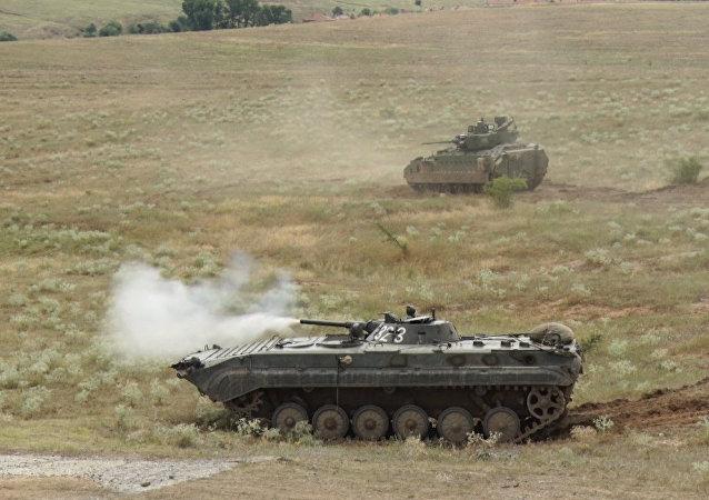 Cvičení NATO v Bulharsku