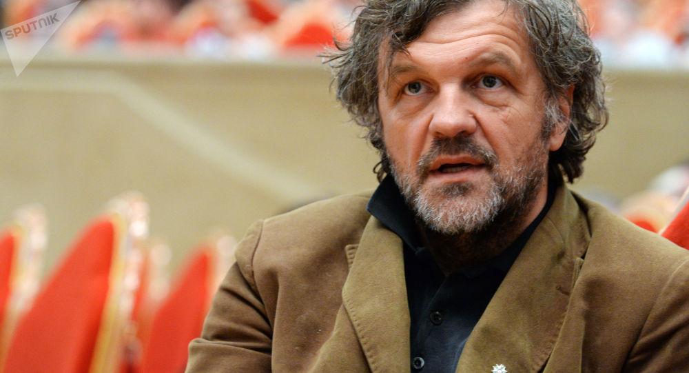 Srbský režisér Emir Kusturica
