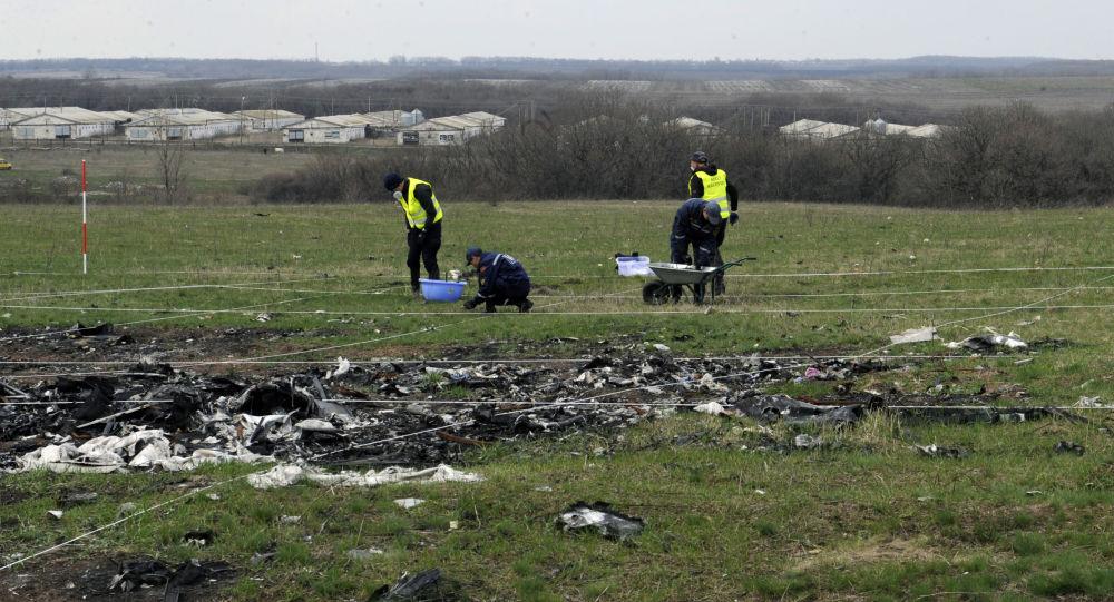 Na místě pádu MH17