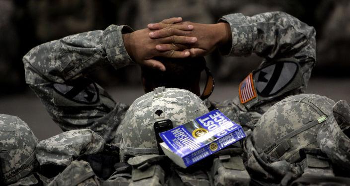 Americký voják v Iráku