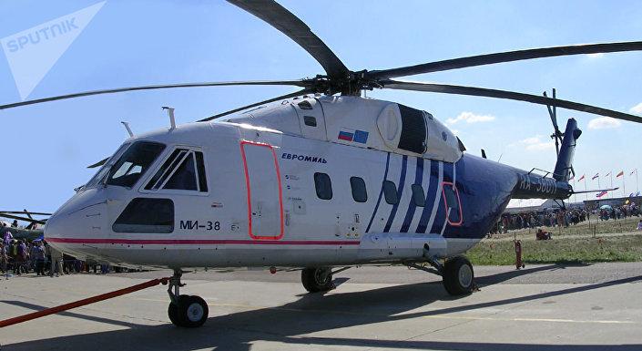 Vrtulník Mi-38