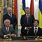 Polonahá dívka se snažila překazit schůzku Porošenka s Lukašenkem
