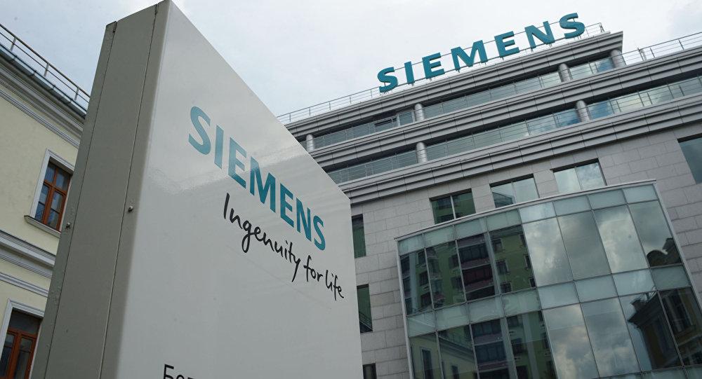 Kacelář Siemens v Moskvě