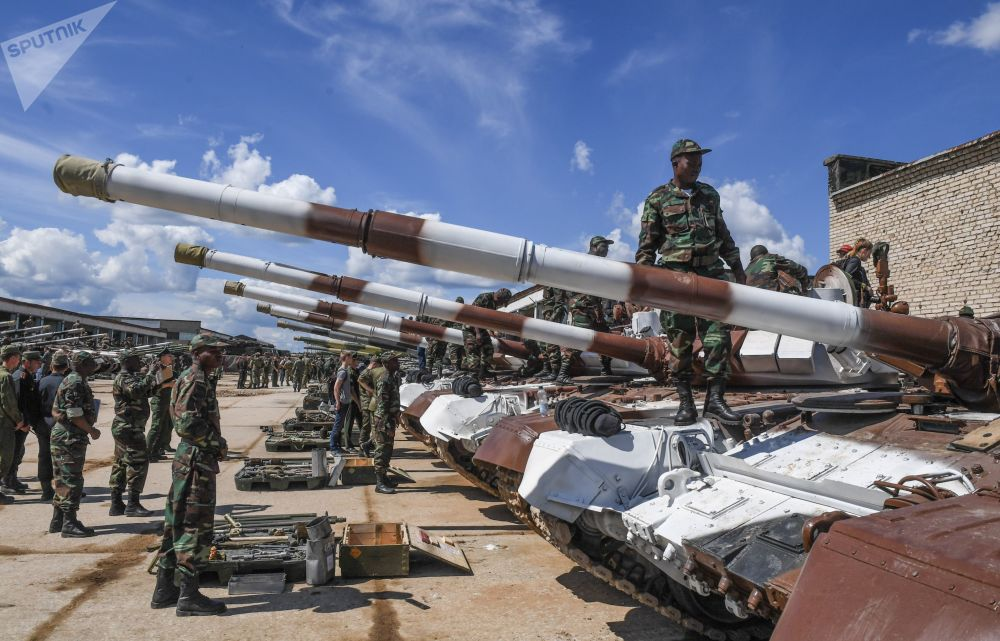 Rozlosování Tankového biatlonu: cizinci si zvykají na Alabino