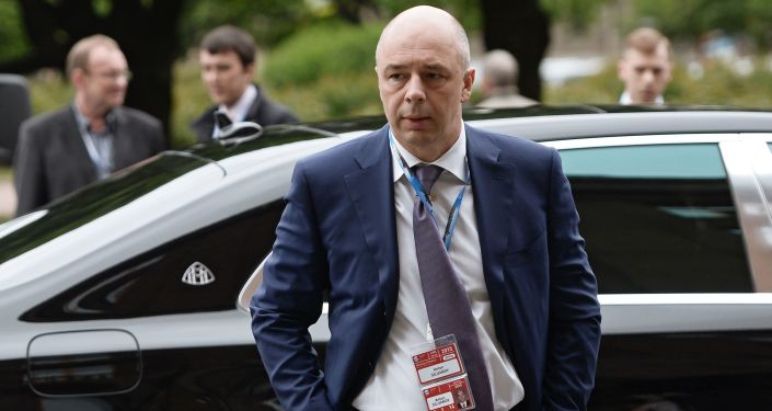 Ministr financí RF Anton Siluanov