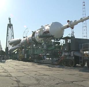53. výprava Sojuzu k ISS. Video