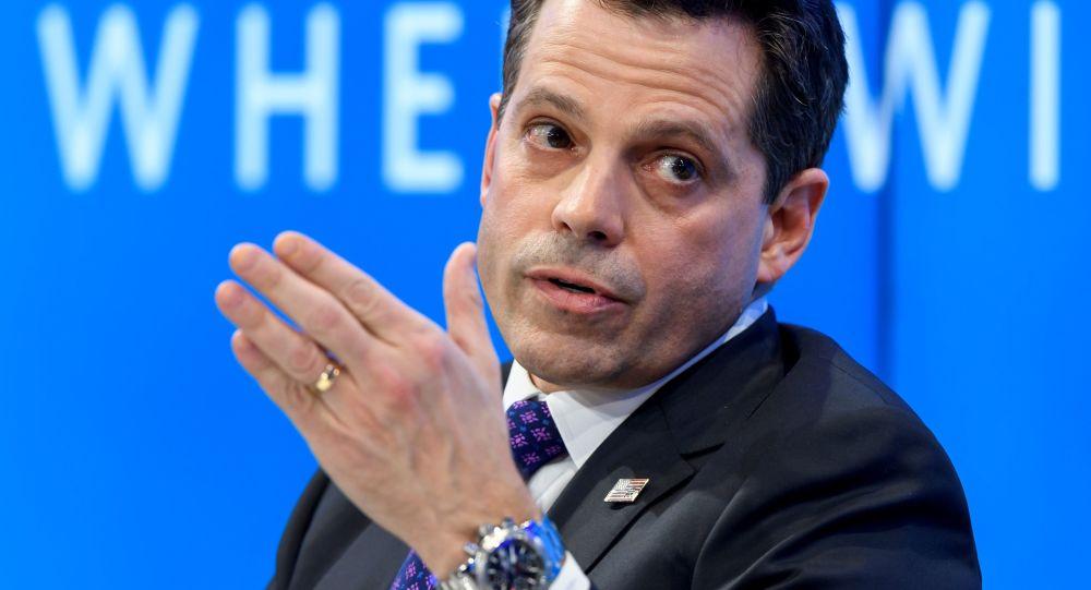 Ředitel pro komunikaci Bílého domu Anthony Scaramucci