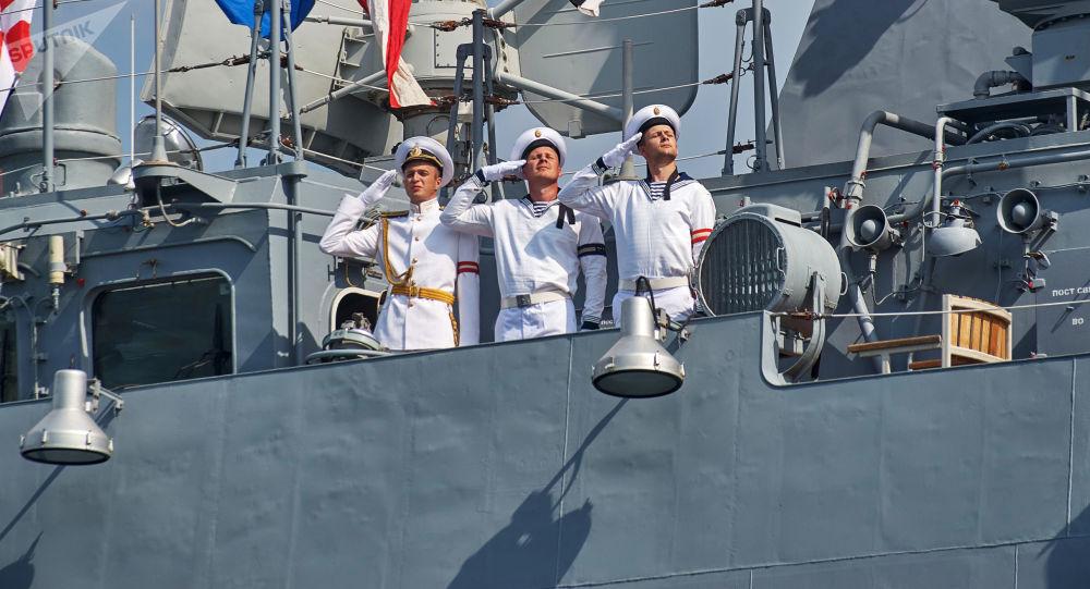 Ruští námořníci v Sevastopolu