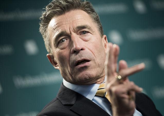 Bývalý generální tajemník NATO Anders Fogh Rasmussen