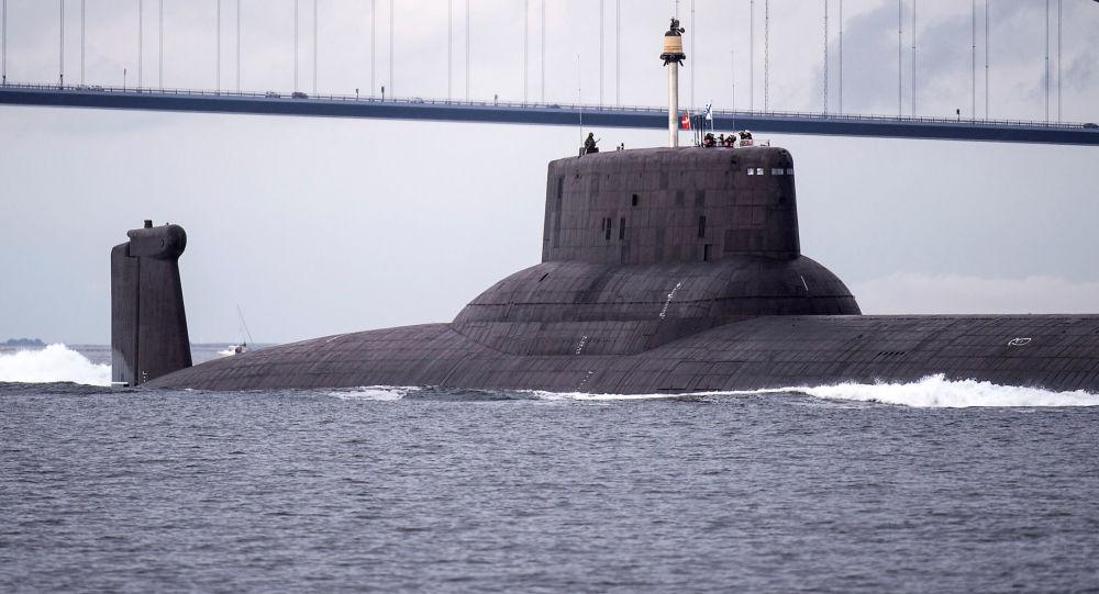 Atomová ponorka Dmitrij Donskoj