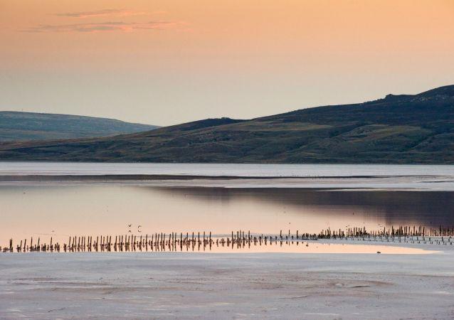 Jezero Čokrak na Krymu