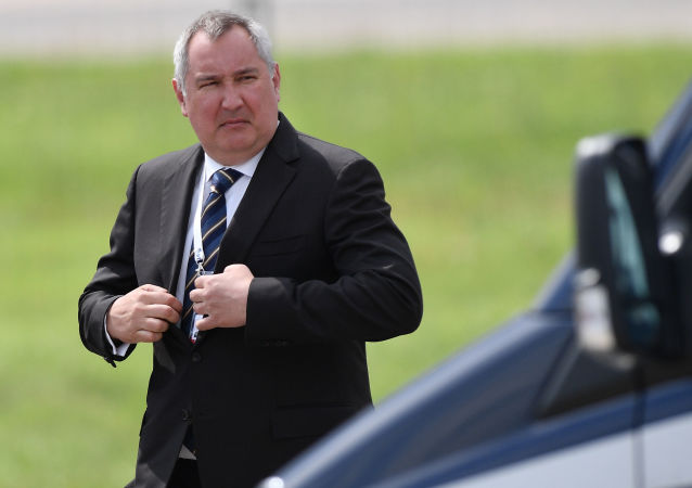 Generální ředitel Roskosmosu Dmitrij Rogozin