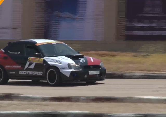 Automobiloví závodníci soutěžili v Rallye Sýrie poprvé po dlouhé přestávce