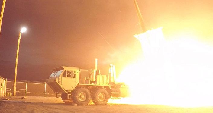 USA provedly testy protiletadlového raketového kompletu THAAD