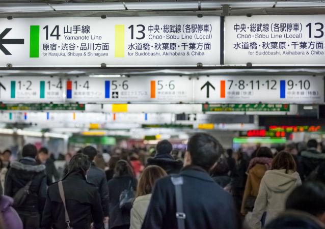Tokijské metro. Archivní foto