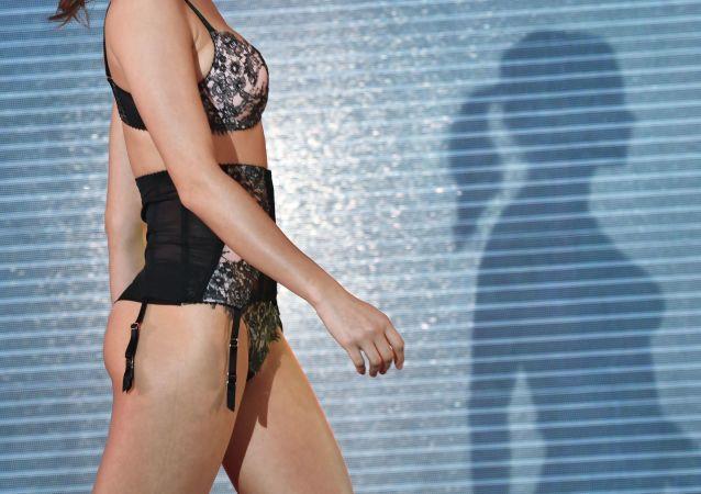 Slavnostní defilé na výstavě spodního prádla Lingerie Show-Forum-2017