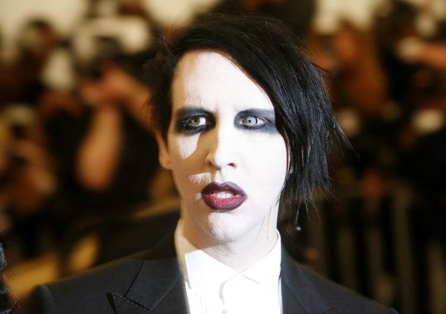 Rokový muzikant Marilyn Manson