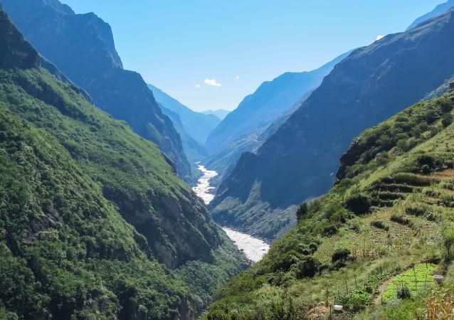 Řeka Jinsha
