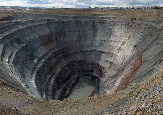 Důl Mir společnosti Alrosa