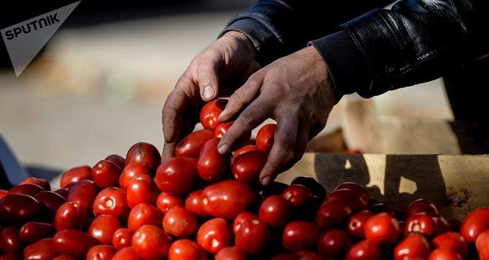 Rajčata na trhu