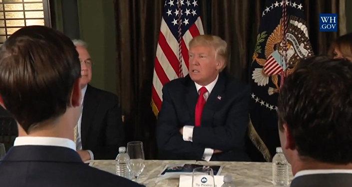Oheň a vztek: Trumpův projev vůči KLDR