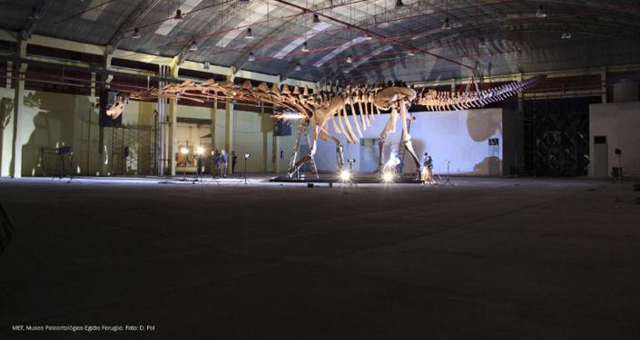 Obří dinosaurus z Patagonie