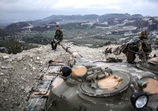 Syrští tankisté