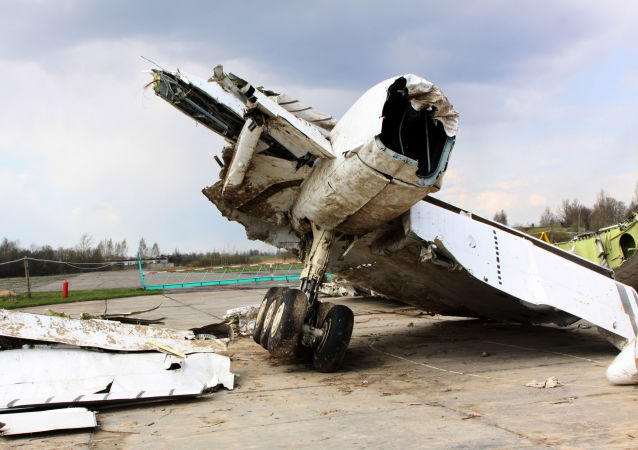 Trosky polského Tu-154