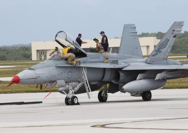 Letecká základna USA na ostrovu Guam. Ilustrační foto.