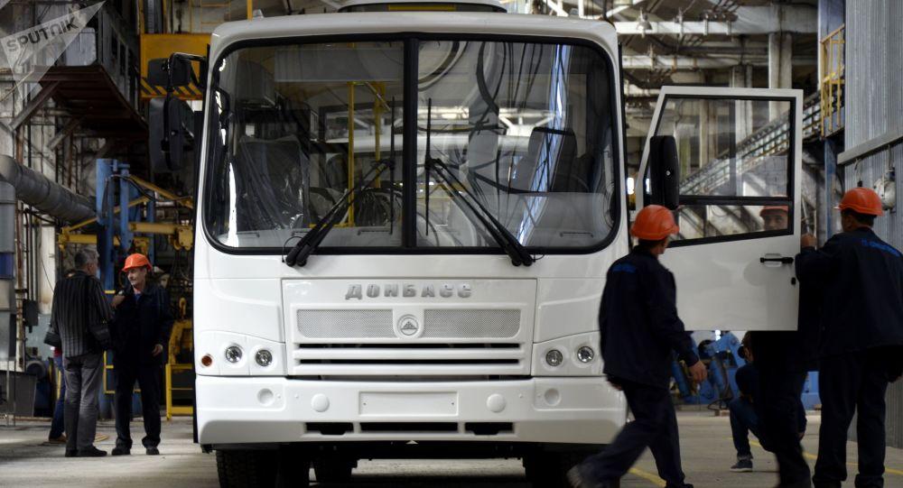 Autobus Donbas vyrobený v DLR