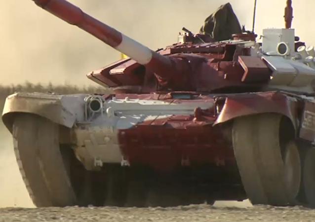 V Alabině skončila finálová etapa Tankového biatlonu