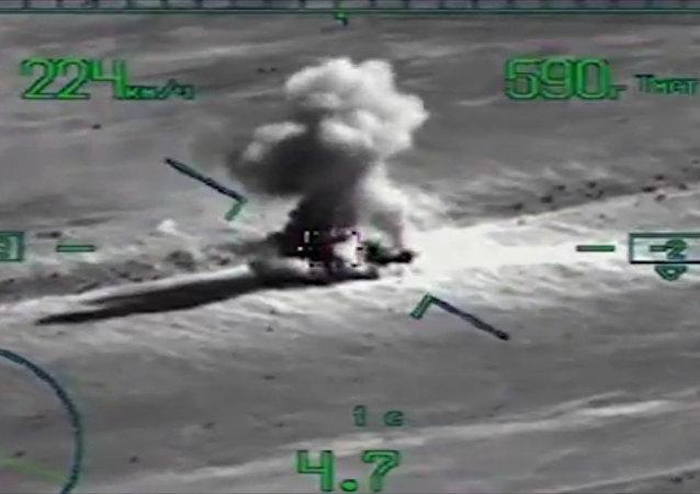 Objevilo se video operace dobytí El-Kder Syrskými ozbrojenými silami za podpory VKS RF