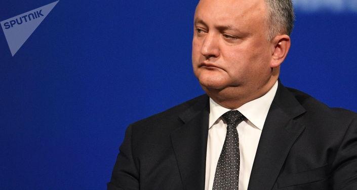 Prezident Moldavska Igor Dodon