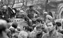 Sovětské tanky v Praze, 1968