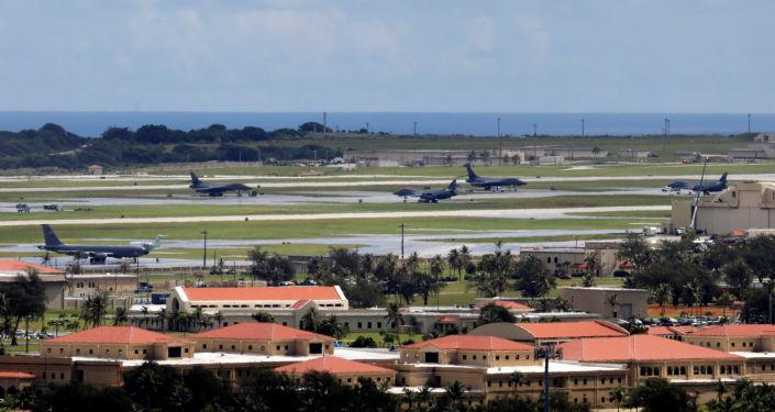 Americká základna Andersen na Guamu