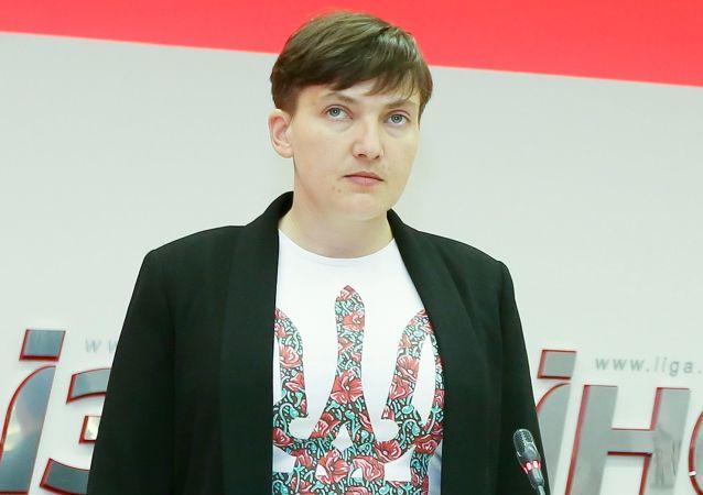 Poslankyně Nejvyšší rady Nadežda Savčenková