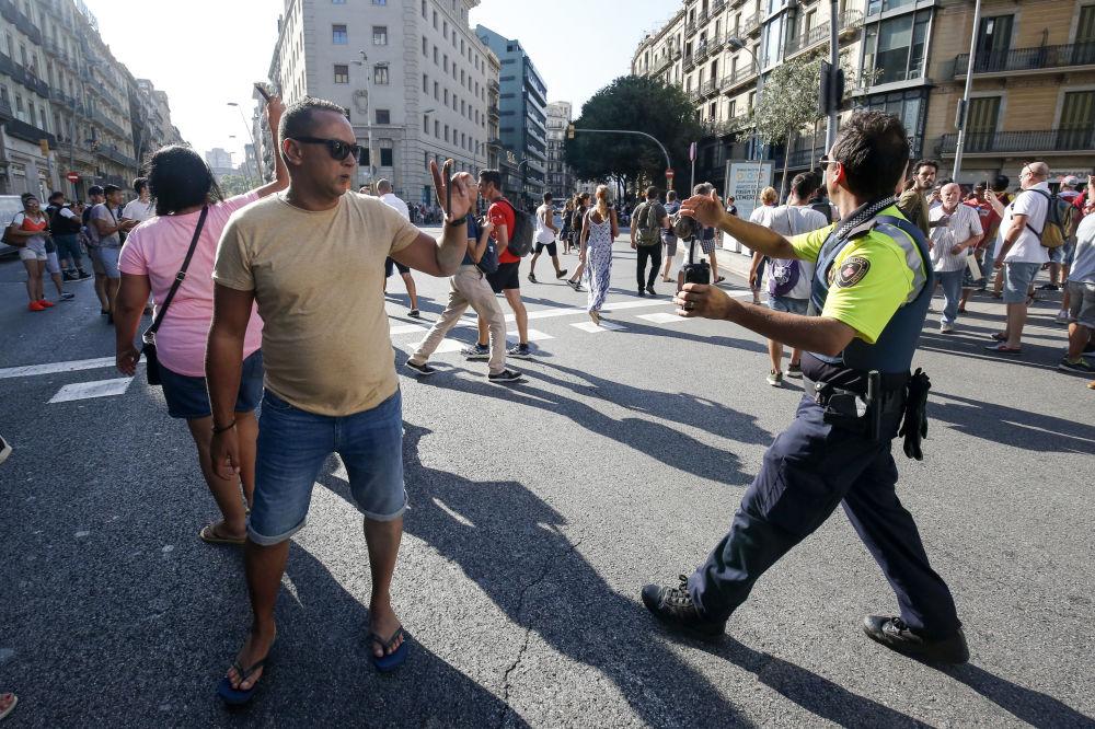 Teroristický útok v Barceloně
