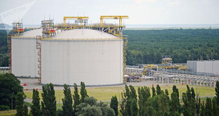Terminál LNG, Svinoústí, Polsko