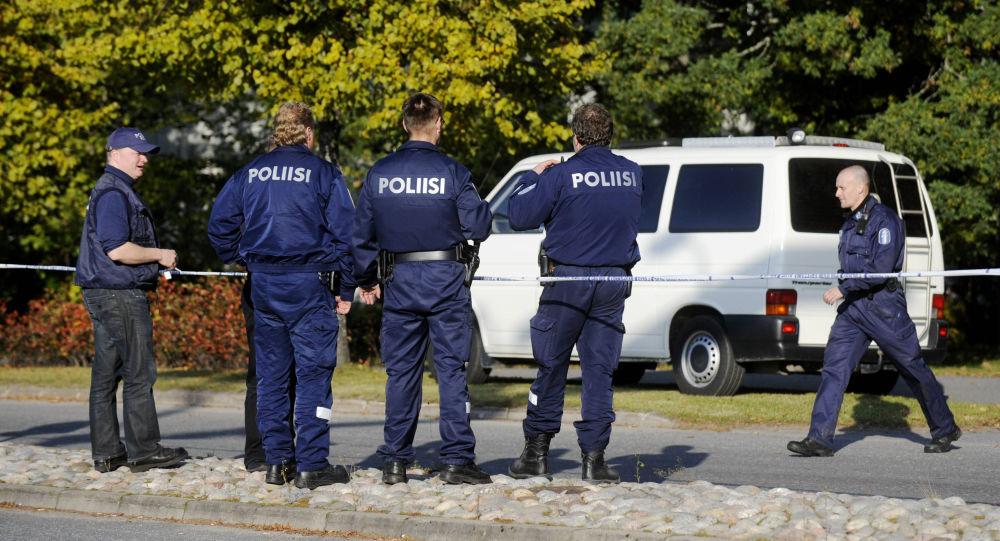 Finští policisté