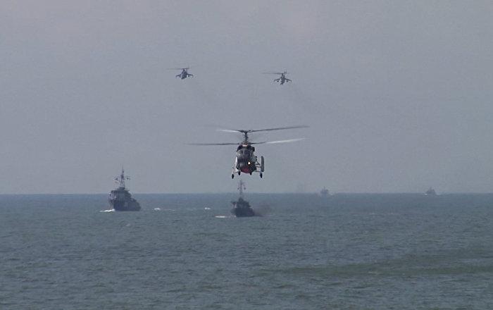 Letecké útoky a výsadek námořní pěchoty Baltské flotily