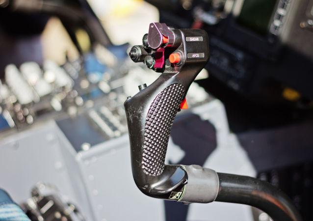 Detail řízení leteckého prostředku