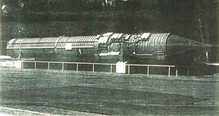 Raketa systému Perimetr